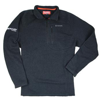 Simms Rivershed 1/4 Zip Sweater - Black