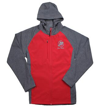 Raider Softshell Jacket - Scarlet / Carbon
