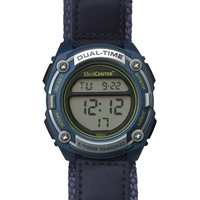 MedCenter Softsider Reminder Watch (Blue)