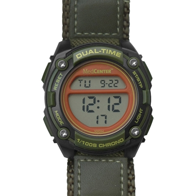 MedCenter Softsider Reminder Watch (Green)