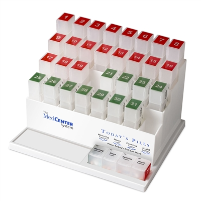 MedCenter Monthly Pill Organizer