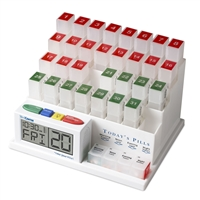 MedCenter System Monthly Pill Organizer & Reminder