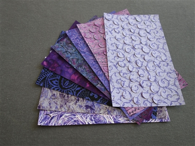 "Grape Escape Pattern Fusible 3/4"" PreCut Circles (608 circles)"