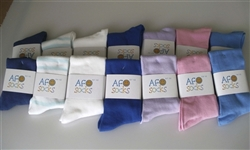Candy Pink AFO Sock