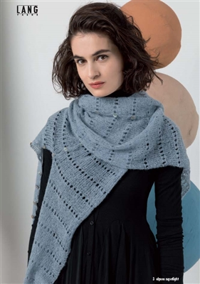 Alpaca Superlight Scarf Kit with Pattern and Yarn
