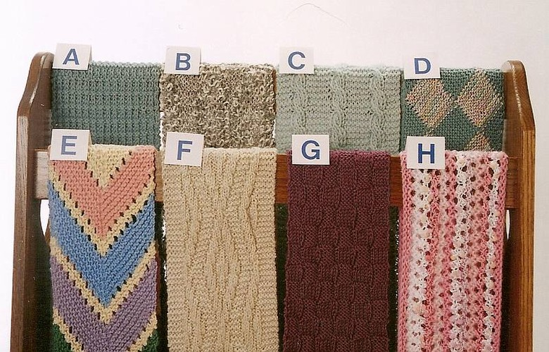 Ann Norling Pattern Scarves To Knit