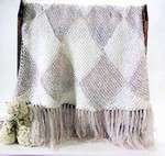 Entrelac Throw