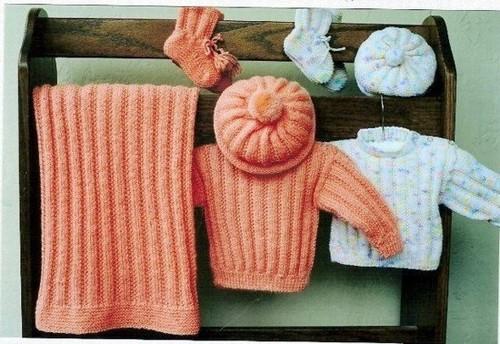 Ann Norling Pattern Infant Set I