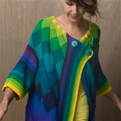 Rainbow Cardigan Downloadable Pattern