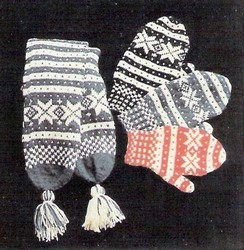 Fana Set Scarf and Mittens