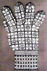 Compass & Roses – Sanquhar Glove Pattern