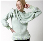 Bicolored Pullover Sweater, Downloadable Version