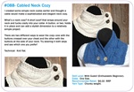 Cabled Neck Cozy
