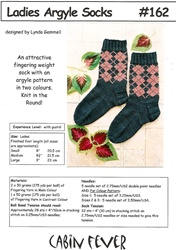 Ladies Argyle Socks