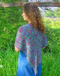 Painted Pathways Shawl