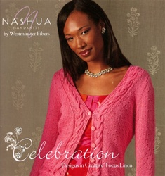Celebration   Designs in Creative Focus Linen by Nashua Handknits
