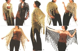 Celebrity Look-Alike Shawl