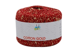 Cotton Gold String-along Sequins