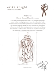Cable Stitch Maxi Sweater by Erika Knight