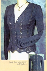 Diamond Lace Drops Cardigan