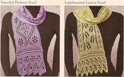 Lacy Botanical Scarves