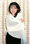 Triangle Lace Shawl Lily Chin Fiber Trends Pattern