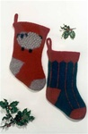Felt Christmas Stocking Fiber Trends Pattern