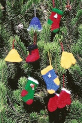 Felt Christmas Ornament Fiber Trends Pattern