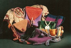 Felt Purses and Shoulderbags