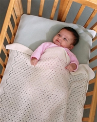 Tulle Lace Baby Blanket