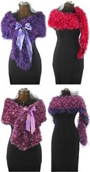 Furry Wraps Collection to Knit & Crochet