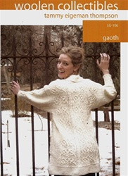 Gaoth Tunic Length Jacket in Mountain Meadow Wool