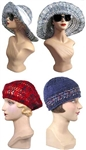 Classic Hairpin Lace Hats