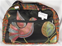 Medium Carry-All Fabric Zippered Bag