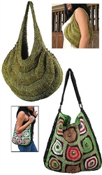 Handy Hobo Handbags to Knit & Crochet