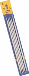 Inox/Prym Straight Double Point Needles