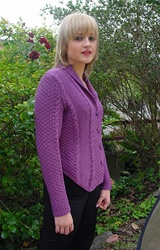 Tally-Ho Jacket in Merino 8 by Jane Slicer Smith