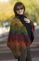 Merino 8 Mitered V Box Cape by Jane Slicer Smith