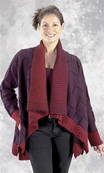 Merino 8 Swagger Jacket by Jane Slicer-Smith