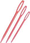 Plastic Darning Needles, 3 pack