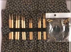 KA Premium Bamboo Exchangeable Circular Needle Set  Large Size Selection
