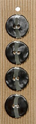 Large Glossy Black buttons