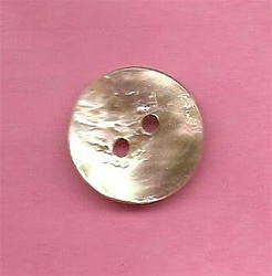 Natural Abalone Button 36