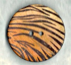 Large Tiger Stripe button size 64