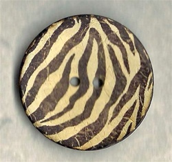 Large Zebra Stripe button size 64