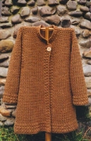 October Coat for Crochet by Oat Couture