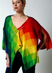 Rainbow Cardigan Sweater