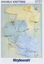 Stylecraft Baby Sweaters 4521