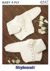 Newborn Baby Sweater Set 4647