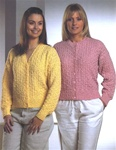 Stylecraft Cardigan Pattern 4916